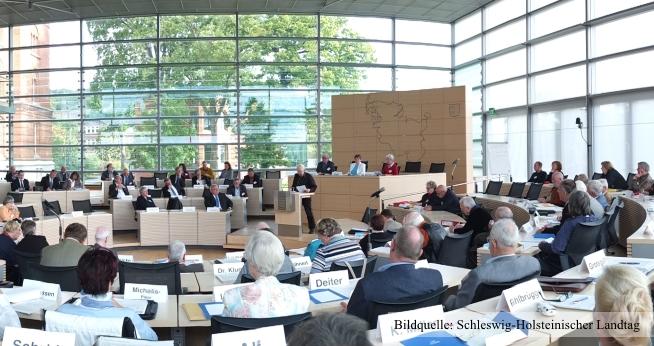 27. Altenparlament in Schleswig-Holstein